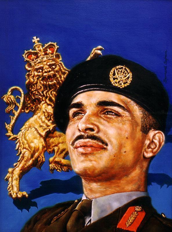 الملك الحسين بن طلال